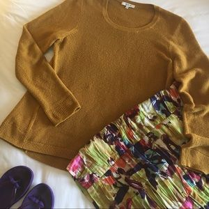 Madewell Riverside Textured Pullover Sweater, sz L